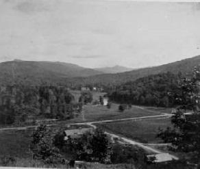 Old Linville Village, 1890s. Credit: Hugh Morton Photograph Collection, UNC