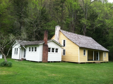 Photo by Daniel Manget. Palmer House, Cataloochee, NC