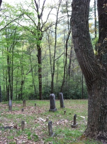 Photo by Daniel Manget. Cemetery at Proctor, NC.