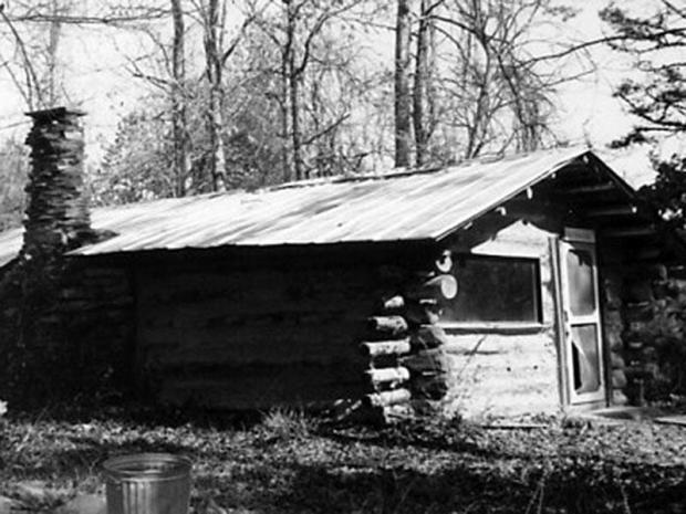 Cabin at Macedonia 1975